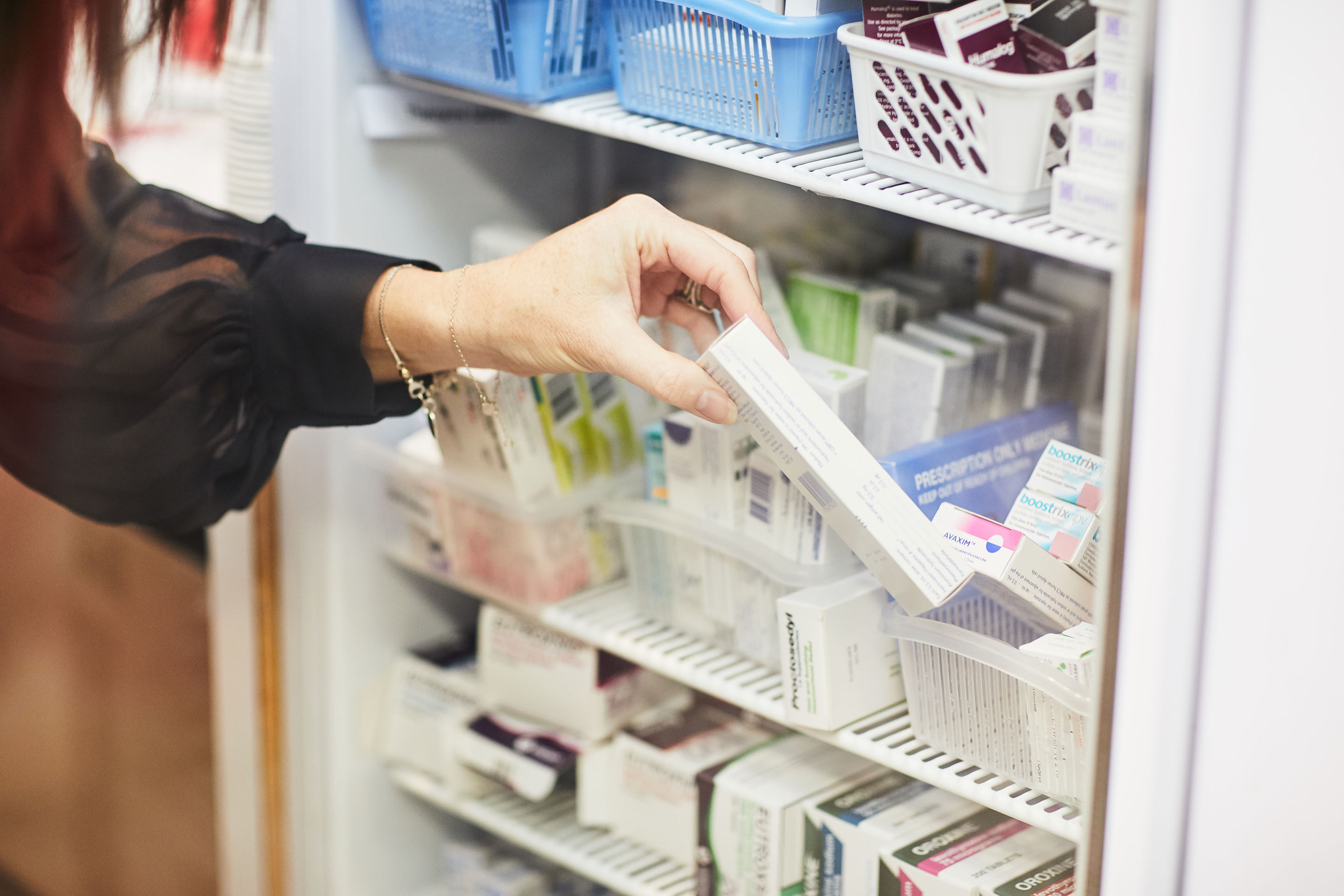 Cold chain management in pharmacy